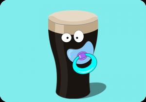 Baby Guinness Shotje