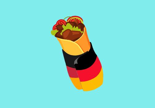 Duitse Burrito shotje