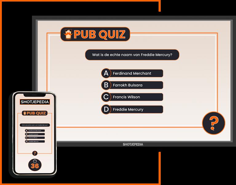 Shotjepedia Pub quiz