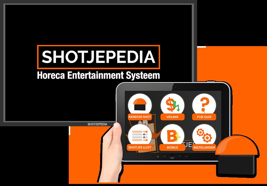Horeca entertainment systeem